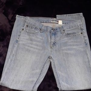 Old Navy ultra low waist womens jeans size 6